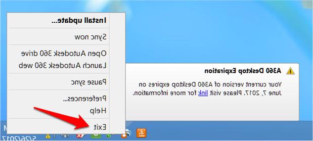 A360 Desktop 9ddf How to Turn Off the A360 Desktop Expiration Notification Autocad