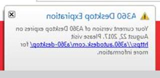 A360 Desktop Xtd6 Autodesk A360 Desktop Expiration Error Message