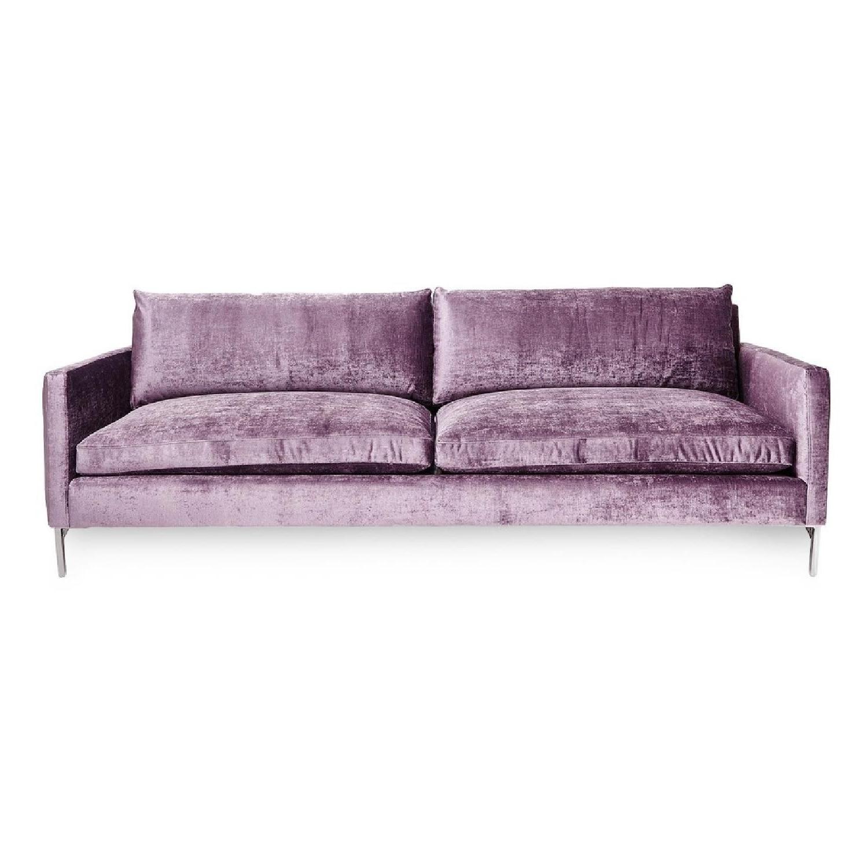 Abc sofas Tldn Abc Carpet and Home Velvet sofa Dwell Pinterest