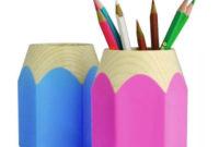 Accesorios De Escritorio D0dg 4 22 Vividcraft Oficina Accesorios Kawaii Gran Capacidad Pluma Plà Stica Titular Accesorios De Escritorio Là Piz Titular Para Nià Os Papelaria Caneta