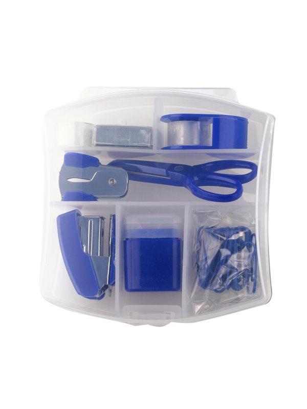 Accesorios De Escritorio H9d9 Cpn Set De 7 Accesorios Para Escritorio Magnum Plastico Azul