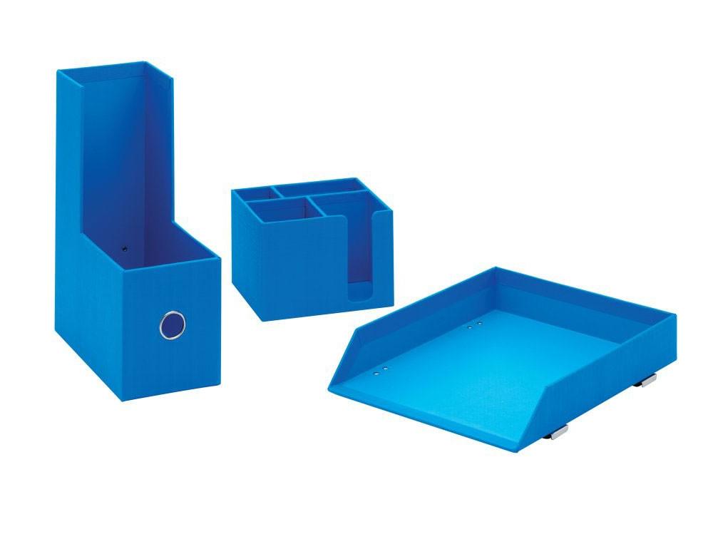 Accesorios Escritorio Kvdd Paquete Inicial Accesorios De Escritorio Joy Azul