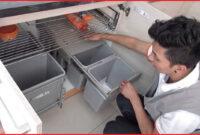 Accesorios Extraibles Para Muebles De Cocina 9fdy Accesorios De Muebles De Cocina Basureros Extraibles