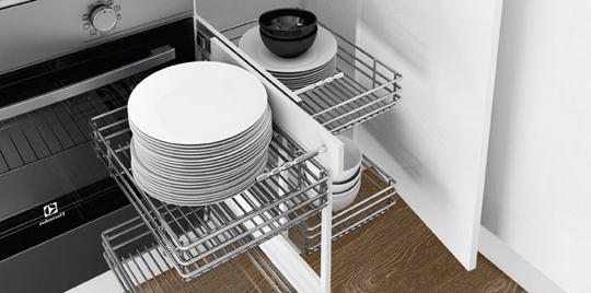 Accesorios Extraibles Para Muebles De Cocina Jxdu CÃ Mo Elegir Accesorios Para ordenar La Cocina Leroy Merlin