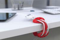 Accesorios Para Escritorio S5d8 organizador De Cables Para Escritorio Accesorios