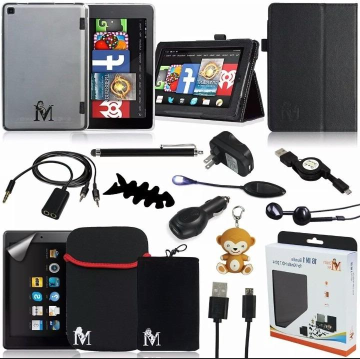Accesorios Para Tablet Kvdd Kit De Accesorios Para Tablet Fire 7 De Bs 30 00 En