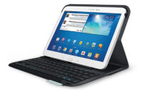 Accesorios Tablet Samsung Wddj Logitech Ultrathin Keyboard Para Samsung Galaxy Tab 3 10 1