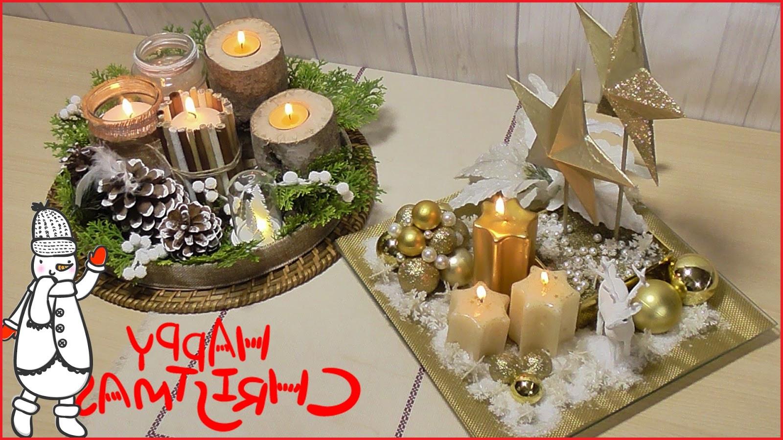 Adornos Mesa Navidad 4pde Adornos De Mesa De Navidad El RincN De Las Manualidades