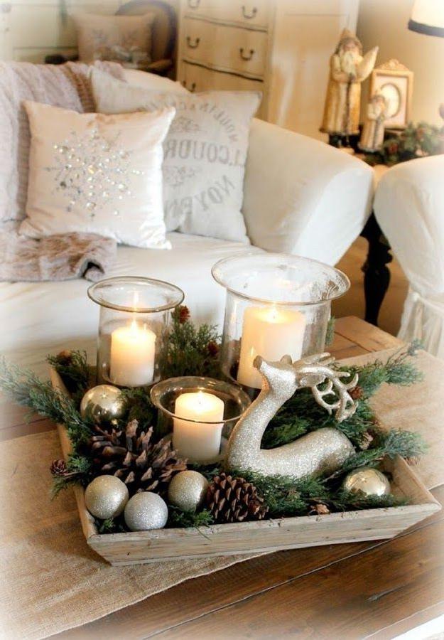 Adornos Mesa Navidad 8ydm 10 Centro De Mesa Para Navidad Para asar Christmas Decorations
