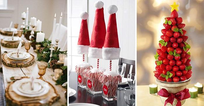 Adornos Mesa Navidad Mndw Creativas Y originales Ideas Para Decorar Tu Mesa En Navidad