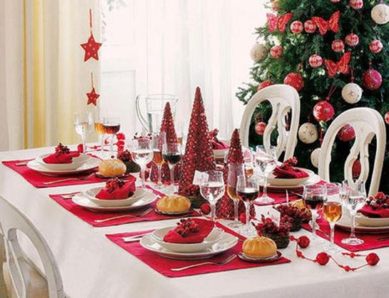 Adornos Mesa Navidad Nkde O Decorar La Mesa En Navidad Decoracion De Interiores