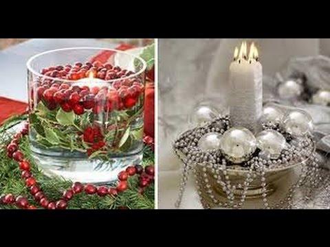 Adornos Mesa Navidad Tqd3 Centros De Mesa Para Navidad Hermosisimos 70 Ideas Youtube