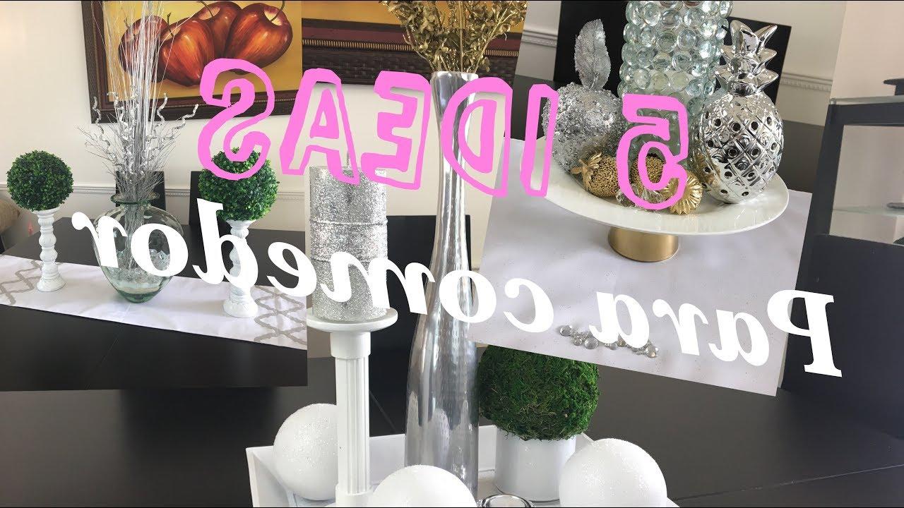 Adornos Para Mesa De Comedor Gdd0 5 Decoraciones Para El Edor 5 Estilos Para Mesa De Edor