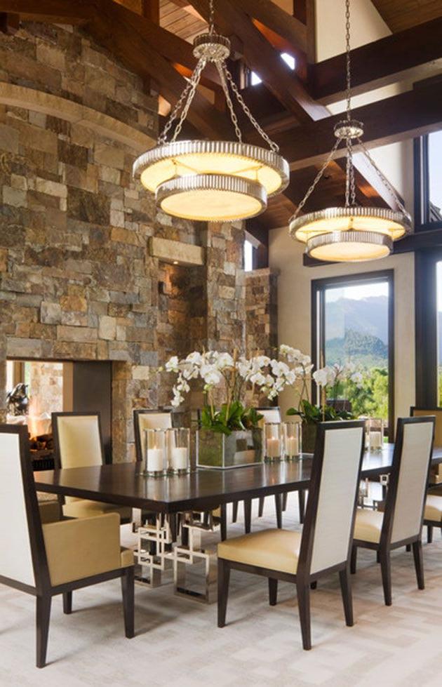 Adornos Para Mesa De Comedor Tqd3 35 Fotos E Ideas Para Decorar La Mesa Del Edor Luxury Dining