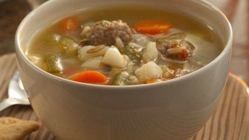 Albondigas Con Verduras Gdd0 Receta De sopa FÃ Cil De Verduras Y Albondigas Quericavida