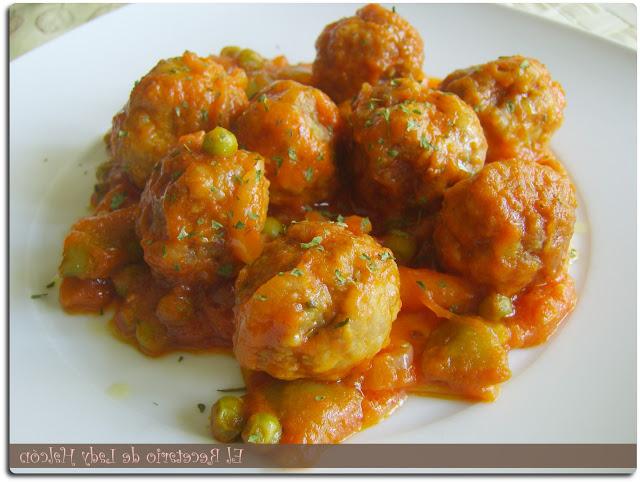 Albondigas Con Verduras H9d9 El Recetario De Lady Halcon Albà Ndigas Con Verduras En Salsa De tomate