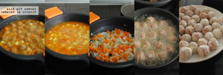 Albondigas Con Verduras Jxdu Albà Ndigas En Salsa De Verduras Receta De Cocina Fà Cil Sencilla Y