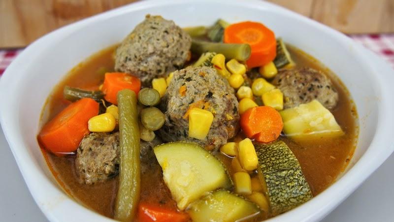 Albondigas Con Verduras Y7du sopa De Albà Ndigas Y Ve Ales Mi Cocina Rà Pida