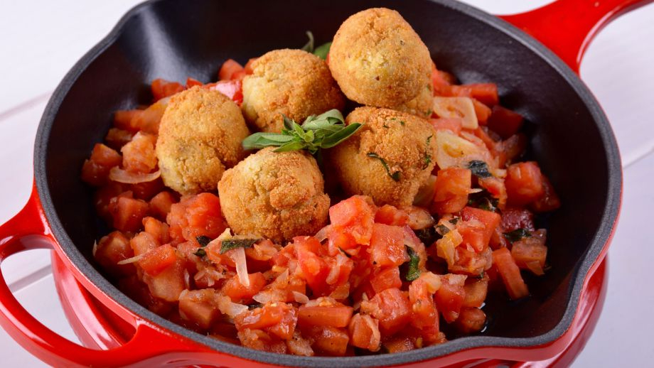 Albondigas Vegetales E6d5 Albà Ndigas Ve Arianas De tofu Con Salsa De tomate Gonzalo D