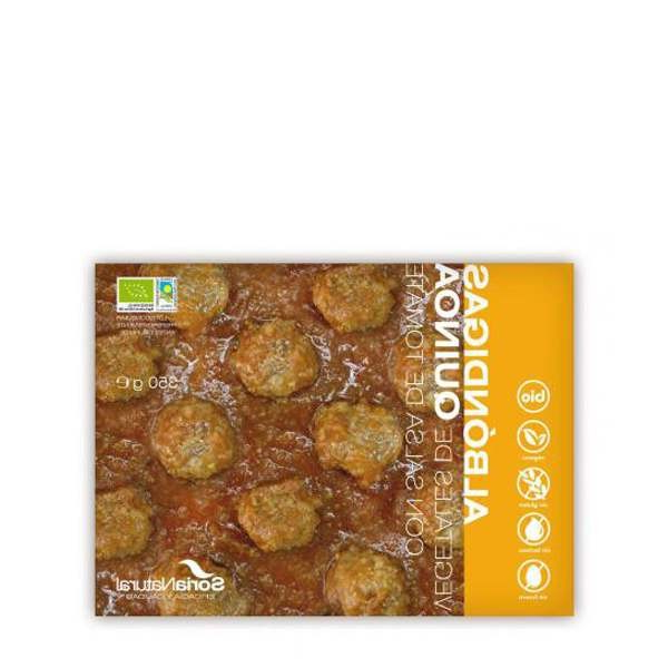 Albondigas Vegetales Ipdd Albà Ndigas Ve Ales De Quinoa Con Salsa De tomate Bio soria Natural