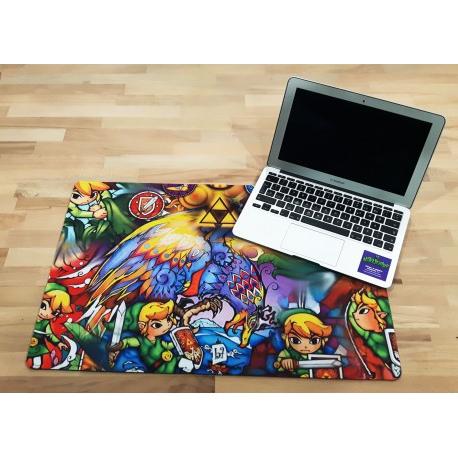 Alfombrilla Escritorio D0dg Zelda Alfombrilla Escritorio Wind Waker 60 X 40 Cm Por solo 22 00