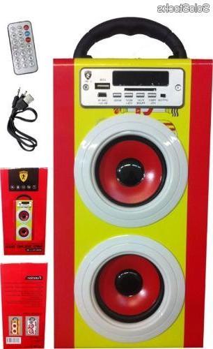 Altavoces Portatil 87dx Altavoz Multimedia L 80 Espaà A Portatil Hifi Mp3 Radio Fm Usb