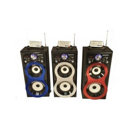 Altavoces Portatil Kvdd Altavoces Portatil Recargable Microfono Incluido Con Karaoke
