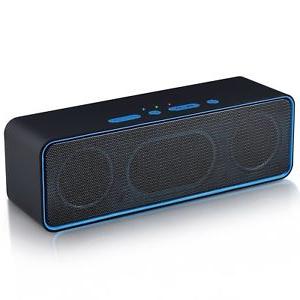 Altavoz Bluetooth Portatil Potente Budm Altavoz Bluetooth Portatil Inalambrico Con Subwoofer Radio Fm sonido