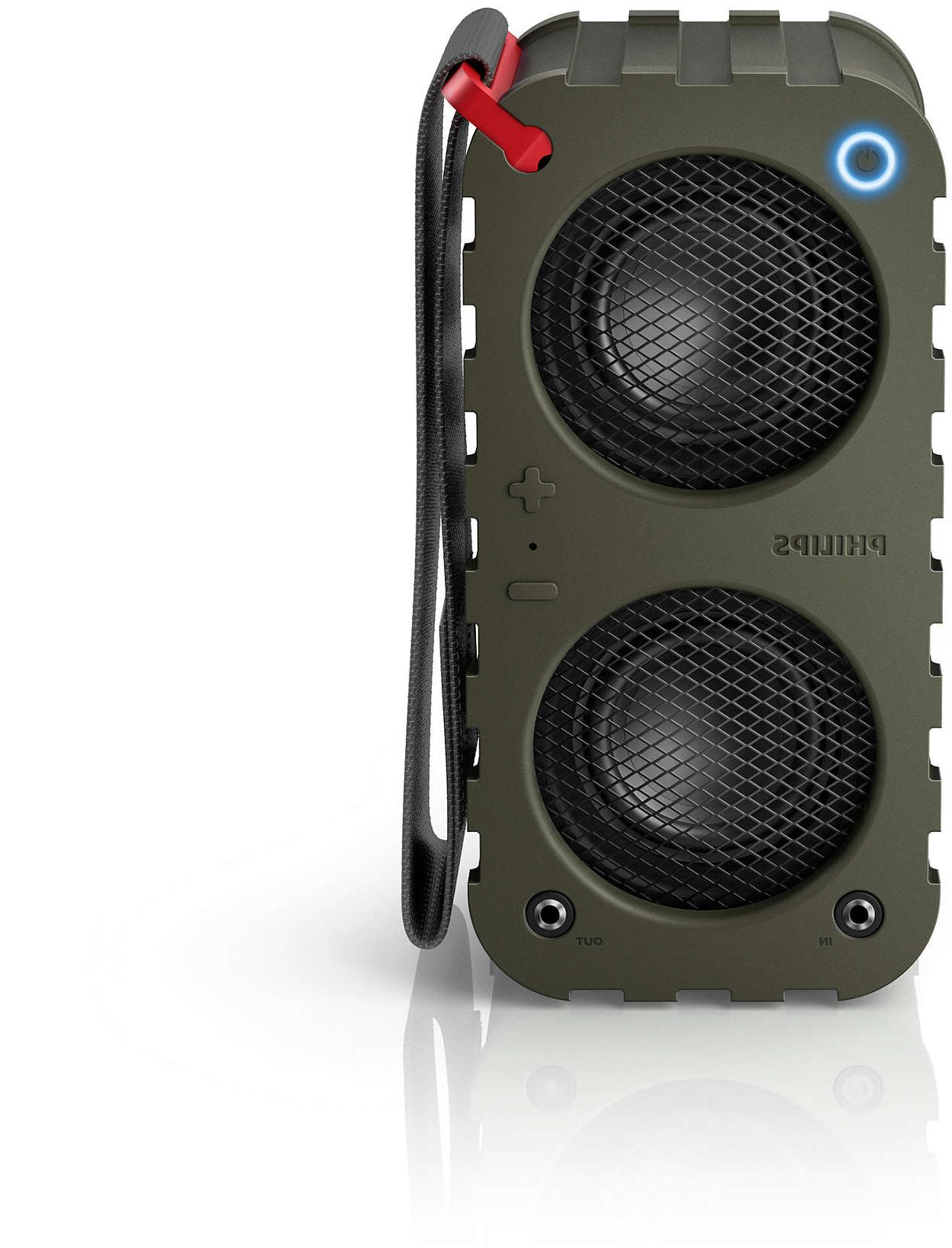 Altavoz Bluetooth Portatil Potente Irdz Altavoz Portà Til Inalà Mbrico Sb5200k 10 Philips