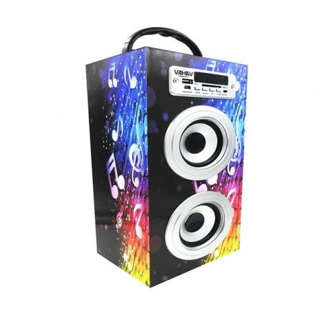 Altavoz Portatil Dddy Altavoz Portà Til M Tk Radio Reproductor Usb Y Sd Bluetooth Infosound