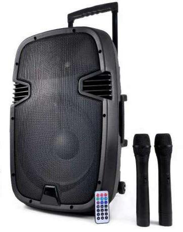 Altavoz Portatil Dwdk Ibiza sound Hybrid15vhf Bt I Mas Que sonido