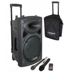 Altavoz Portatil Ffdn Port8uhf Pack 1 Altavoz Portatil Con Pie Y Cable 200w Rms Ibiza sound