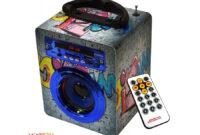 Altavoz Portatil Ipdd Altavoz Portà Til Bluetooth Go Rock 3w 1 Graffiti Collection Grey