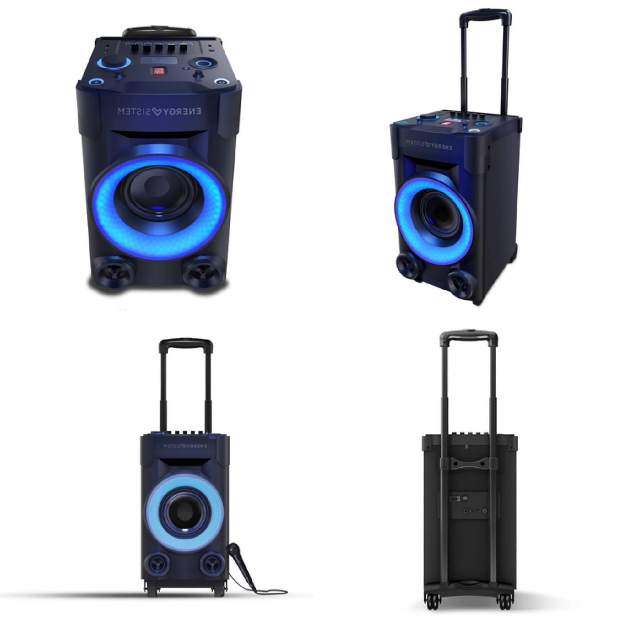 Altavoz Portatil Mndw Energy Party 3 Go Un Altavoz Portà Til Con Karaoke Perfecto Para