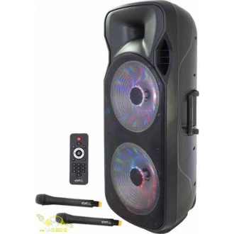 Altavoz Portatil Potente Wddj Altavoz Portatil Potente 1000 W Max Party 215led