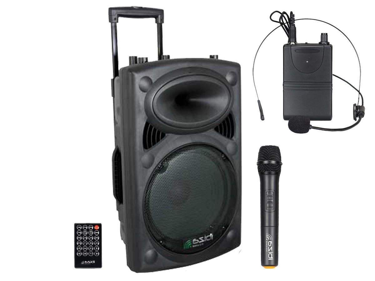 Altavoz Portatil Rldj Ibiza sound Port 12 Uhf Bt Altavoz Portatil Con Microfonia Uhf