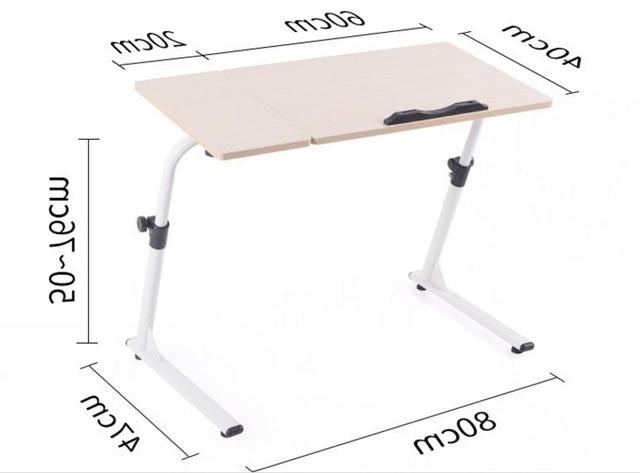 Altura Mesa Escritorio 3ldq 60 20 40 Cm Multiuso Mesa Do Laptop Ajustà Vel Altura Mesas De