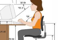 Altura Mesa Escritorio Ffdn Prevenir Lesiones Al Usar El ordenador