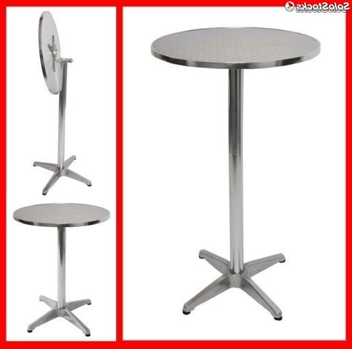 Altura Mesa Tqd3 Aluminio Mesa De Bar Tabla 70 110cm Regulable En Altura 60 Cm