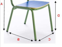 Altura Silla 9fdy Mobiliario Silla Escolar Infantil Altura De 26cmts 32cmts O 36cmts