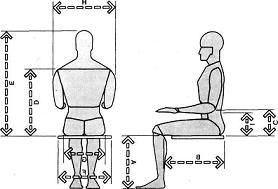 Altura Silla Ftd8 Muebles Domoticos Medidas Para Diseà Ar Sillas O asientos