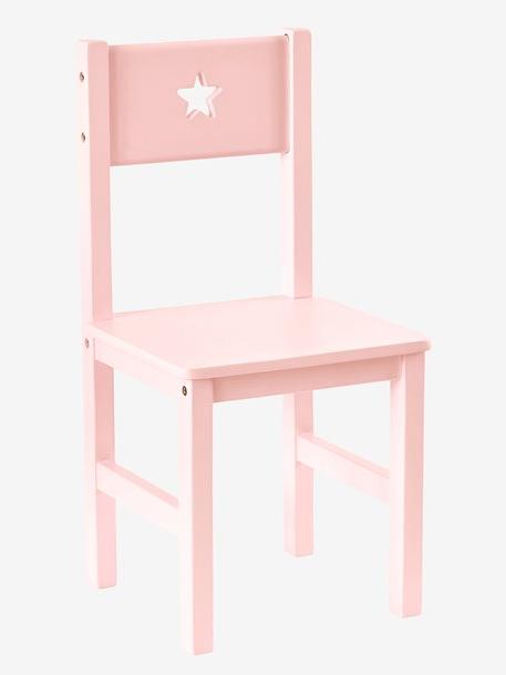 Altura Silla O2d5 Silla Infantil Sirius Altura Del asiento 30 Cm Rosa Vertbaudet