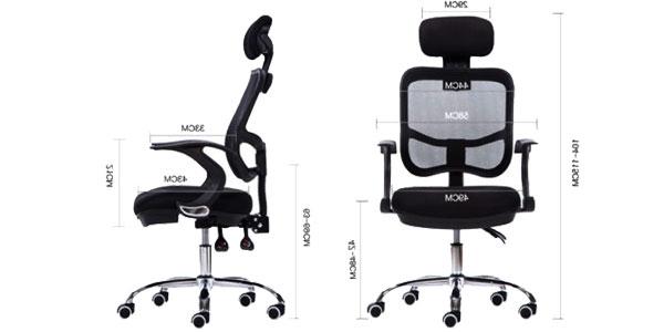 Altura Silla S5d8 Chollazo Silla De Oficina Giratoria Con asiento De Altura Ajustable