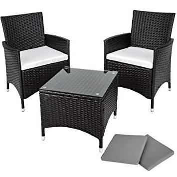 Amazon Muebles De Jardin Y7du Tectake Conjunto Muebles De Jardà N En Aluminio Y Poly Ratan 2 Set