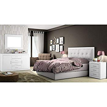 Amazon Muebles Dormitorio 0gdr Amuebla Dormitorio De Matrimonio Color soul Blanco Poro Mate
