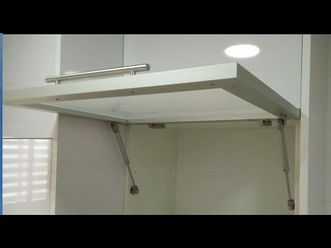 Amortiguadores De Gas Para Muebles De Cocina Q0d4 O Poner Un Amortiguador De Gas En Las Puertas De Cocina Youtube