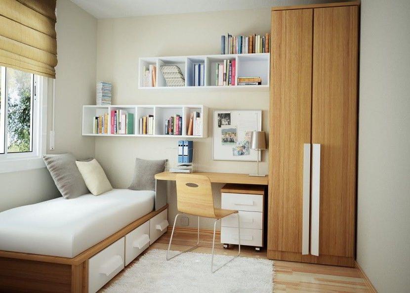 Amueblar Piso Pequeño Dwdk Dormitorio Pequeño 830x593 Elige Los Mejores Muebles Para Una
