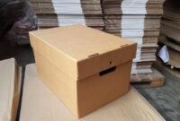 Archivador Carton 4pde Caja De Carton Corrugado Modelo Archivador S 8 00 En Mercado Libre