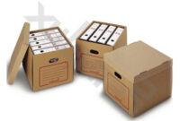 Archivador Carton T8dj 20 Cajas Automontables De Cartà N Resistente Para Archivadores A4