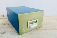 Archivador Carton Tldn Caja Clasificadora Centauro De Notario AÃ Os 60 Prar Muebles